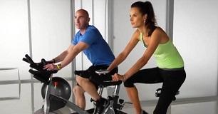 Alessandra Ambrosio Spinning Workout Video