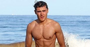 zac efron workout 6 pack body