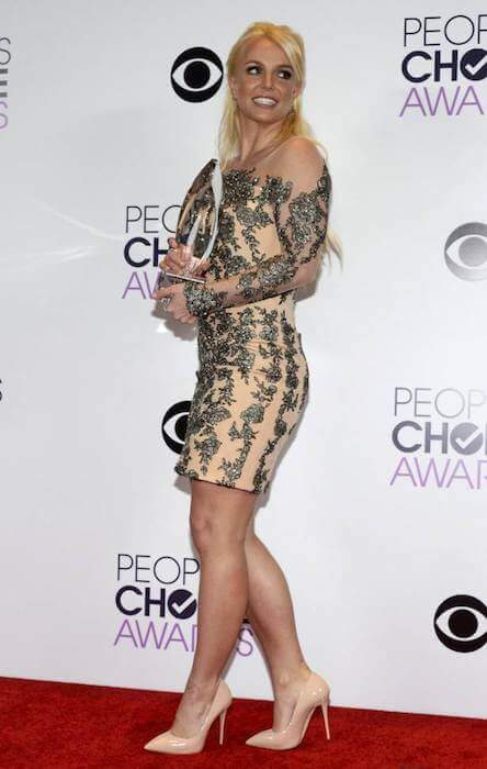 Britney Spears during People's Choice Awards 2014