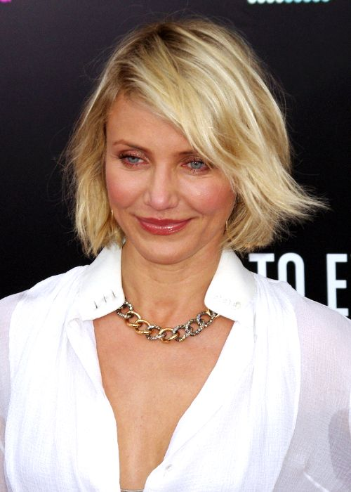 Cameron Diaz New York premiere of What to Expect When You are Expecting May 2012