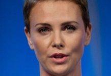 Charlize Theron Face Closeup