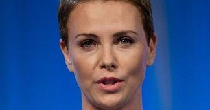 Charlize Theron Face Closeup