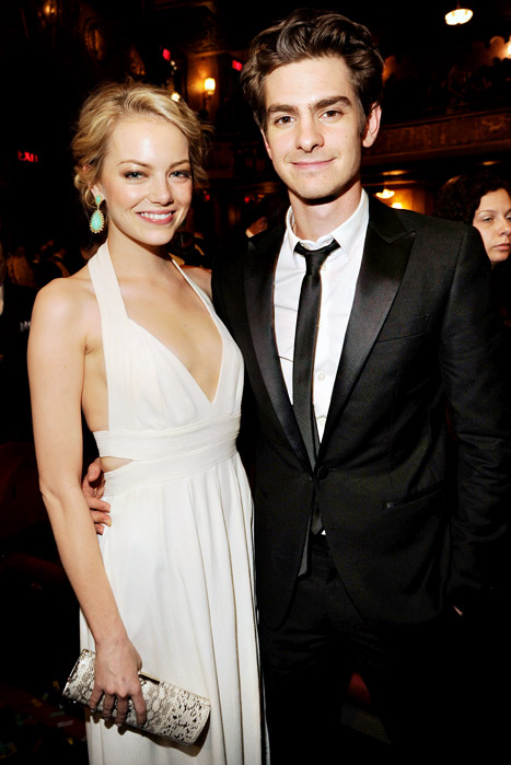 Emma Stone and Andrew Garfield Spotted in London But ...