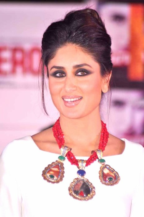 Kareena Kapoor at the promotional launch of Jealous 21 collection for her film Heroine