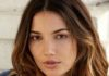 Lily Aldridge Face Closeup