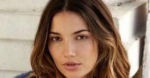 Lily Aldridge Face Closeup