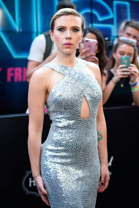 Scarlett Johansson at Rough Night premiere in New York City in June 2017