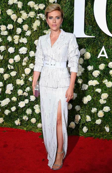 Scarlett Johansson at Tony Awards in June 2017