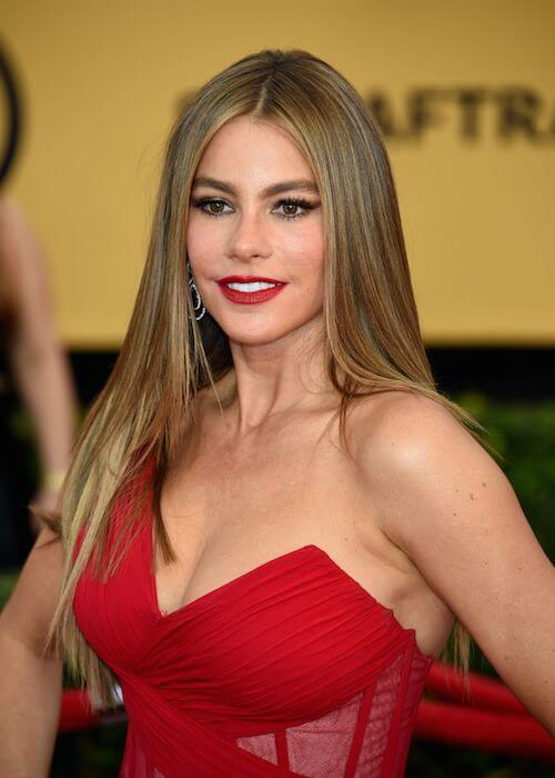 Sofia Vergara at 2015 SAG Awards in Los Angeles