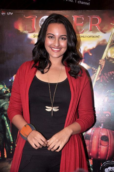 Sonakshi Sinha promoting Joker July 2012