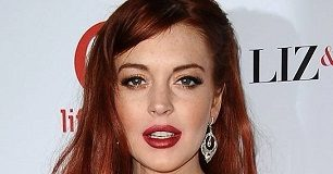 lindsay lohan 2012 red hair