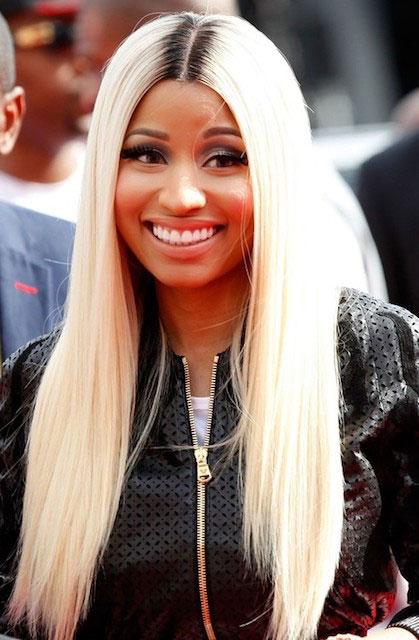 Nicki Minaj hair style