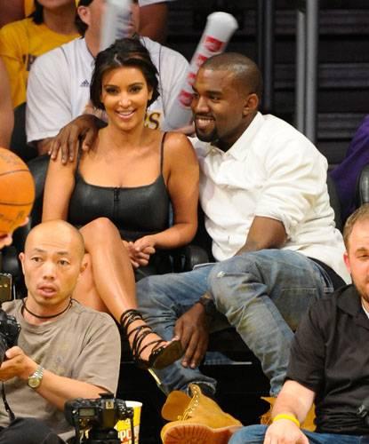 2014 Metal Kim Kardashian Blade high heel leather suede pointed