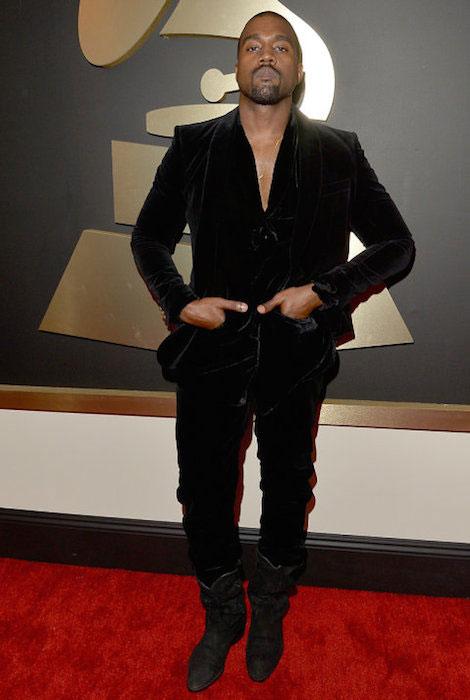 Kanye West at Grammys 2015