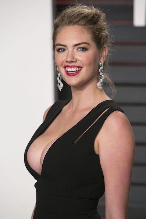 Kate Upton at Vanity Fair Oscar 2016 Party in Beverly Hills, California