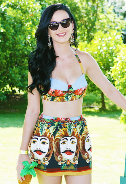 Katy Perry during Coachella 2013