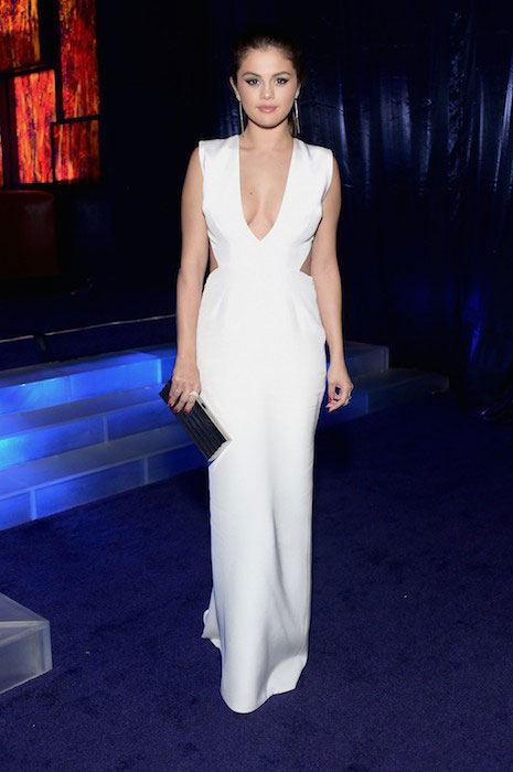 Selena Gomez during Golden Globes 2015 WB InStyle Party.