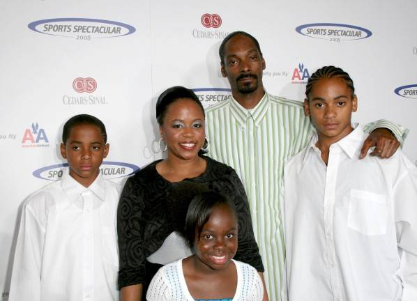 Snoop Dogg with cool, friendly, enchanting, Wife Shante Taylor