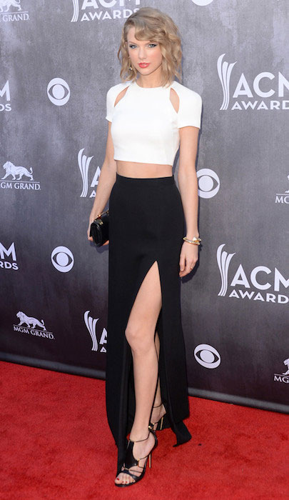 Taylor Swift during ACM Awards 2014.