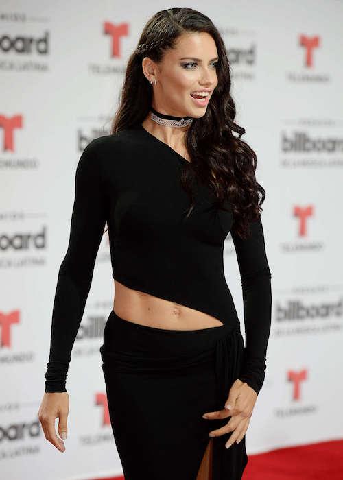 Adriana Lima at 2016 Latin Billboard Awards