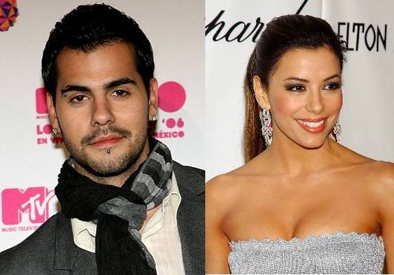 Eduardo Cruz with Eva Longoria