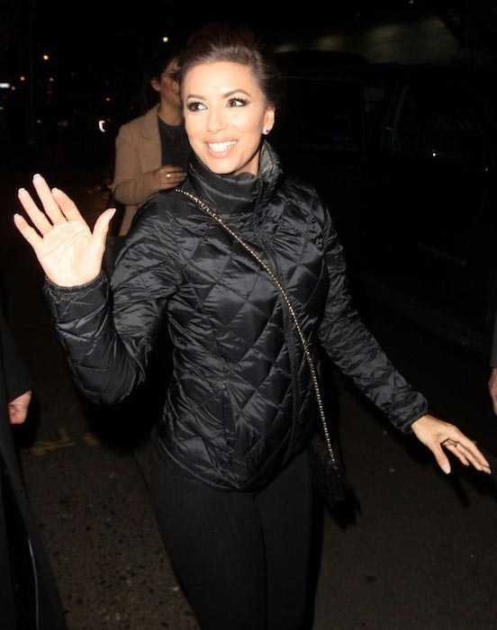 Eva Longoria out and about in New York in February 2016