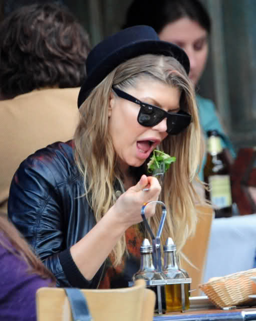 Fergie-eating-diet