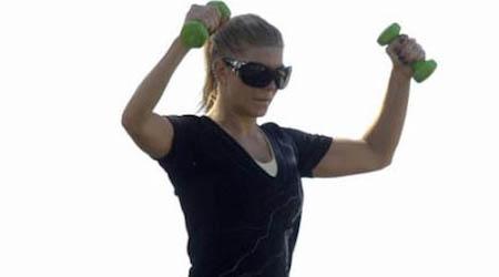 Singer Fergie Workout Routine and Diet Plan