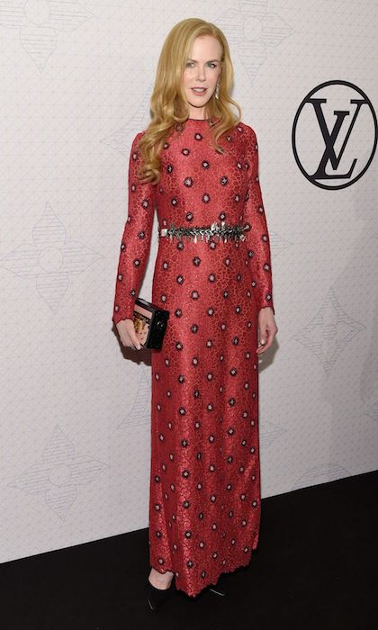 Nicole Kidman arriving to the Louis Vuitton Monogram Celebration 2014.