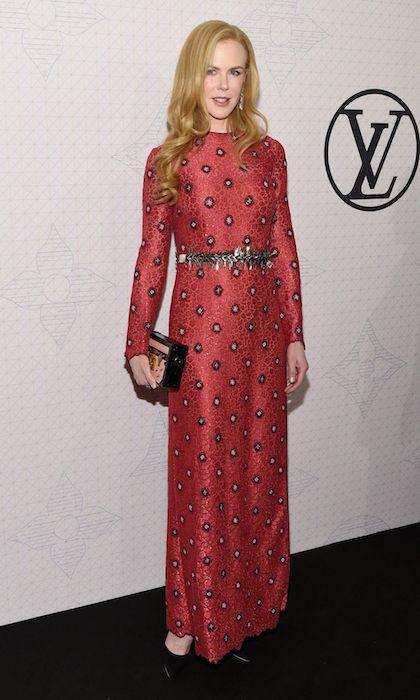 Nicole Kidman arriving to the Louis Vuitton Monogram Celebration 2014.