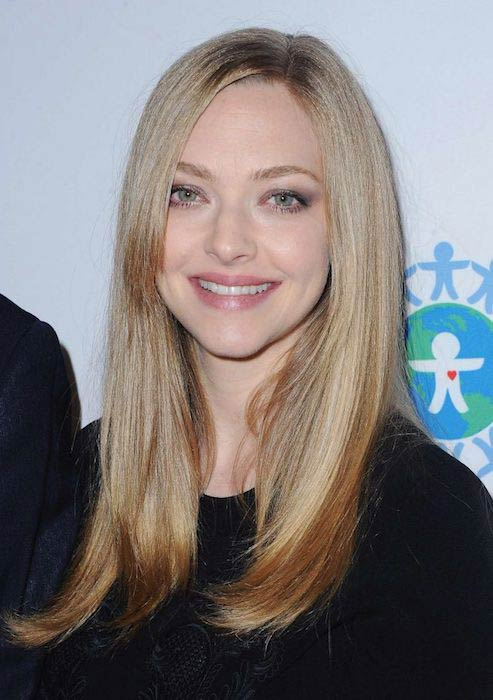 Amanda Seyfried at World of Children Hero Awards in April 2017