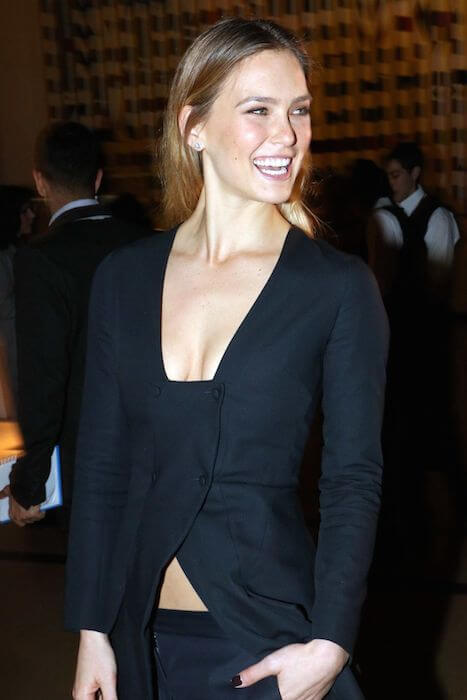 Bar Refaeli at Dior Dinner at Tel Aviv Museum of Art in Tel Aviv in February 2015