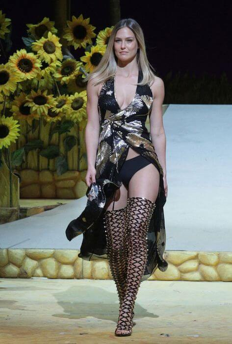 Bar Refaeli walks on runaway of Factory 54 for Summer 2015 Fashion Show in Tel Aviv