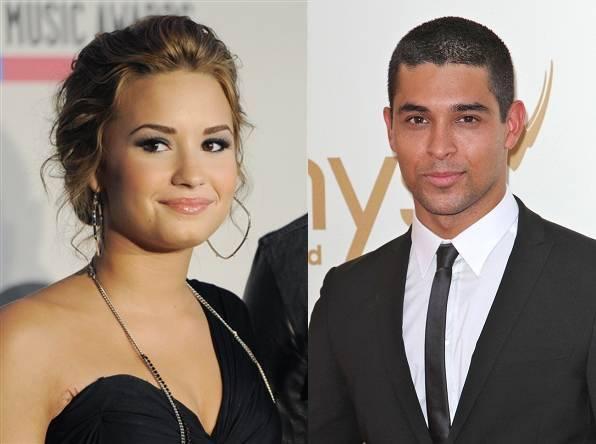 Demi Lovato with Wilmer Valderrama