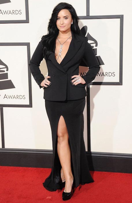 Demi Lovato at Grammy Awards 2016