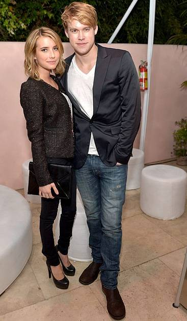 Emma Roberts with Chord Overstreet