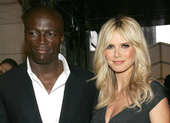 Heidi Klum with her Husband Seal