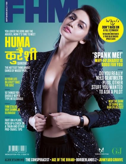 Huma Qureshi Model FHM