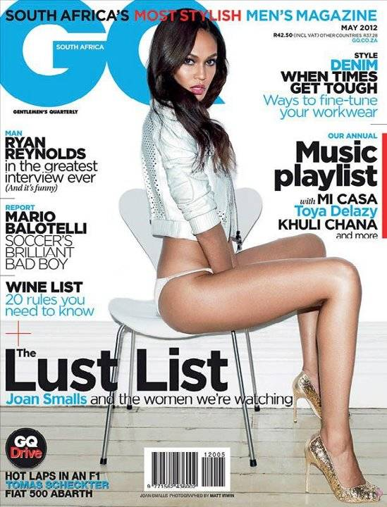 May 2012 Cover of GQ South Africa