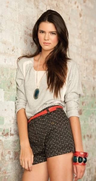 Kendall Jenner Modeling 2012