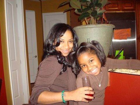 Lil Wayne's former wife Antonia Toya Carter and his daughter