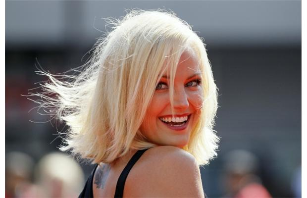 Malin Akerman Face Closeup