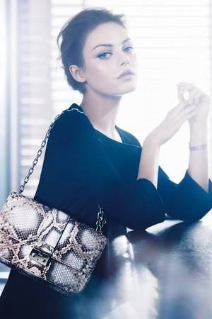 Mila Kunis is endorsed by Dior in 2012