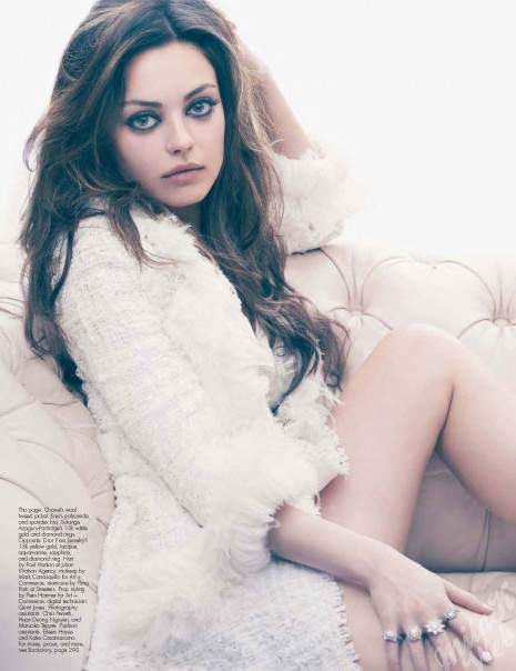 Mila Kunis Height Weight Body Statistics