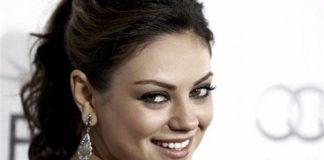 Mila Kunis Face Closeup