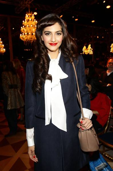 Sonam Kapoor Milan Fashion Week 2012
