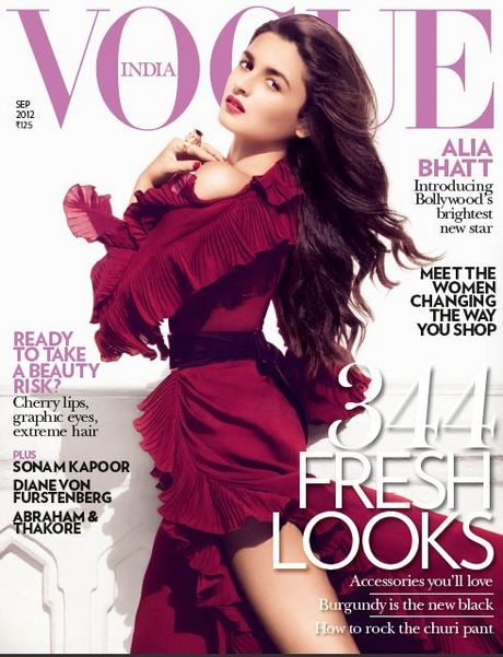 Alia Bhatt Vogue India