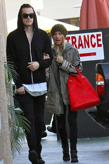 Ashley Tisdale and CM French