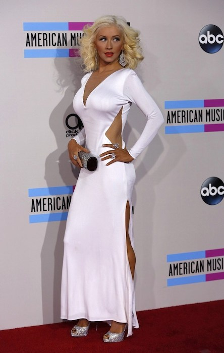 Christina Aguilera during American Music Awards 2013