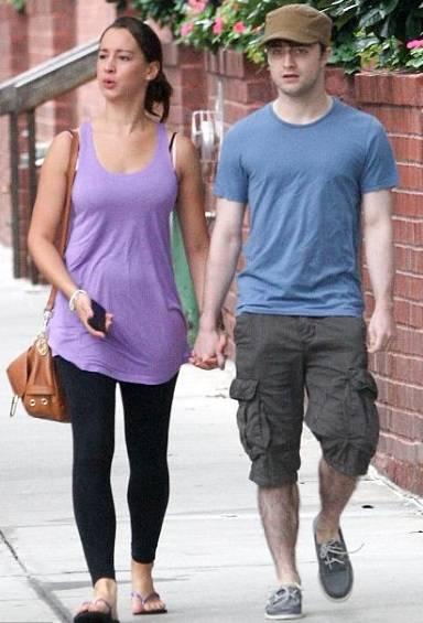 Daniel Radcliffe with Rosanne Coker
